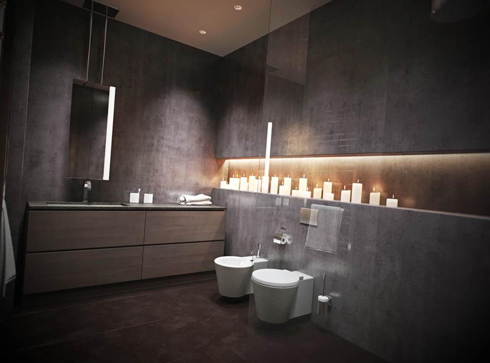Banheiros Pequenos Modernos