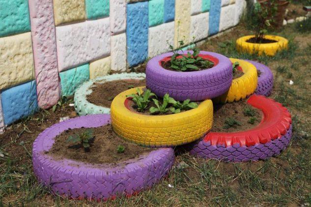20+ Ideias Criativas para Reciclar Pneus