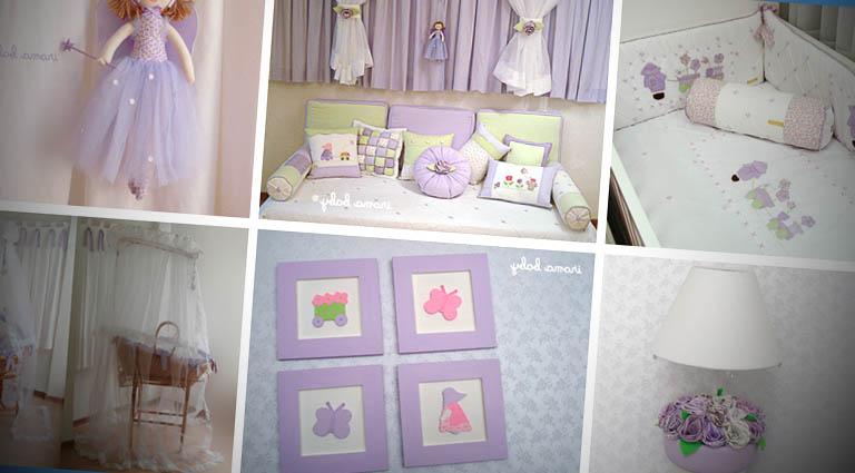 Acessórios para decorar o quarto do bebe