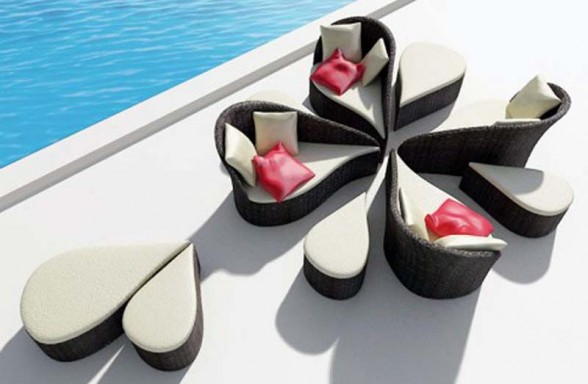 Comfortable Sofa Pool Furniture