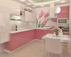 Cozinha Cor de Rosa Dicas Ideias 3