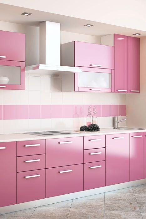 Cozinha Cor de Rosa Dicas Ideias 4