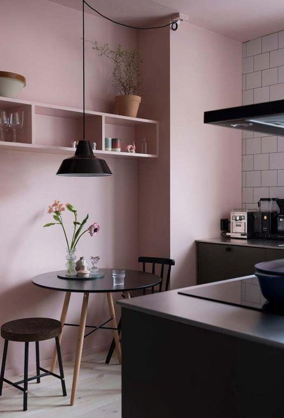 Cozinha Cor de Rosa Dicas Ideias 8