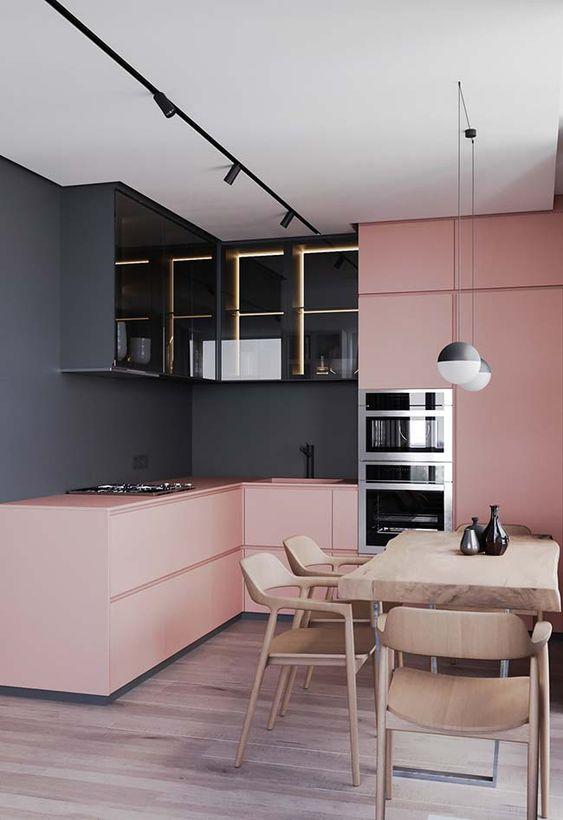 Cozinha Cor de Rosa Dicas Ideias 9