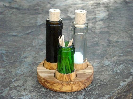 DIY Artesanato Garrafas Vinho 11