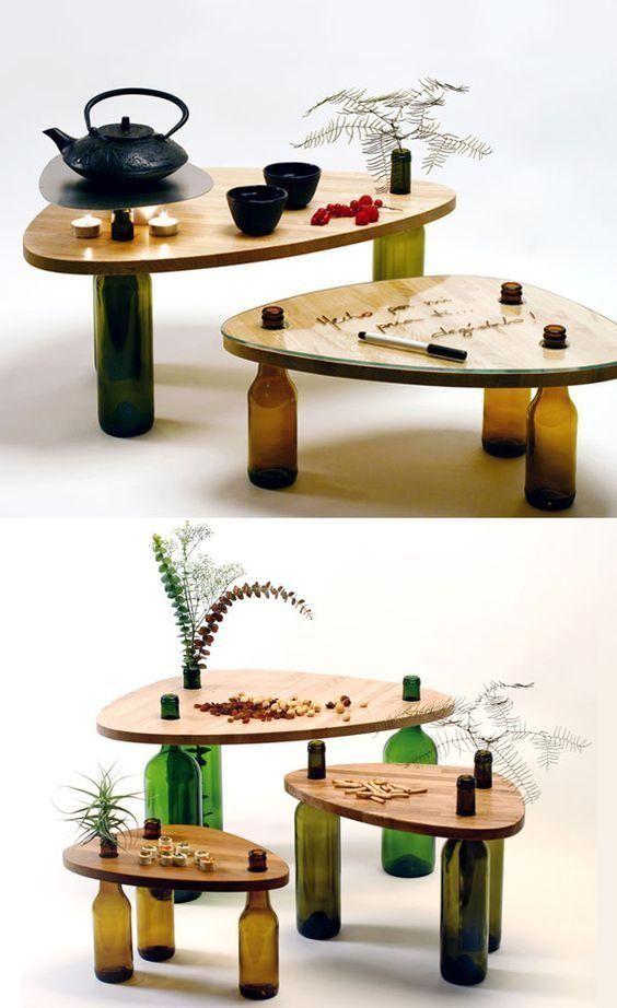 DIY Artesanato Garrafas Vinho 8