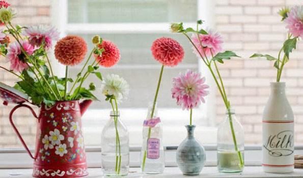 Decoração com vasos Como fazer fotos