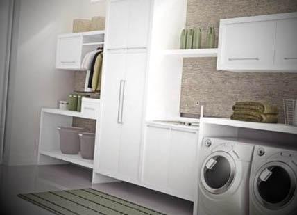 Decoração lavanderia pequena