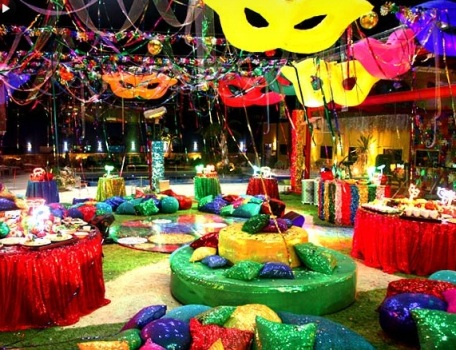Decoração para festa de carnaval ideias fotos como fazer