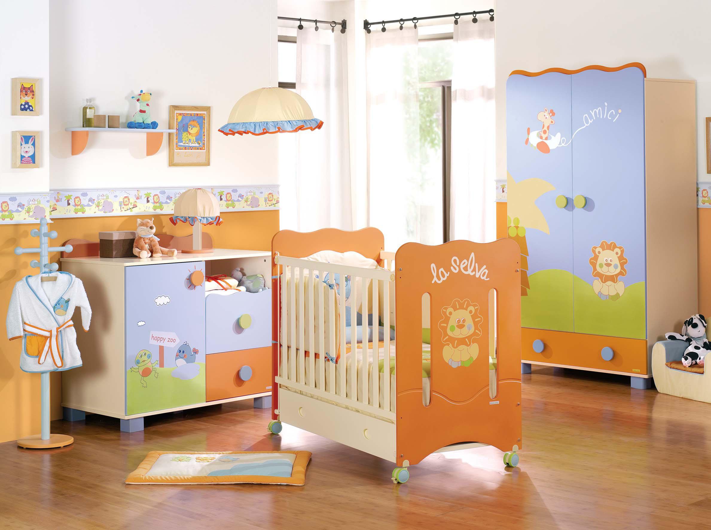 Decoração para quarto de bebê pequeno