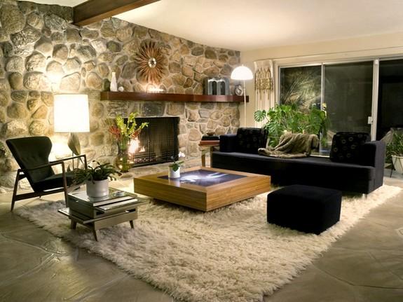 Decoração rústica decoracao salas modernas