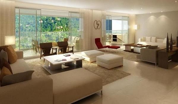 15 decora o para salas grandes Como decorar un salon grande