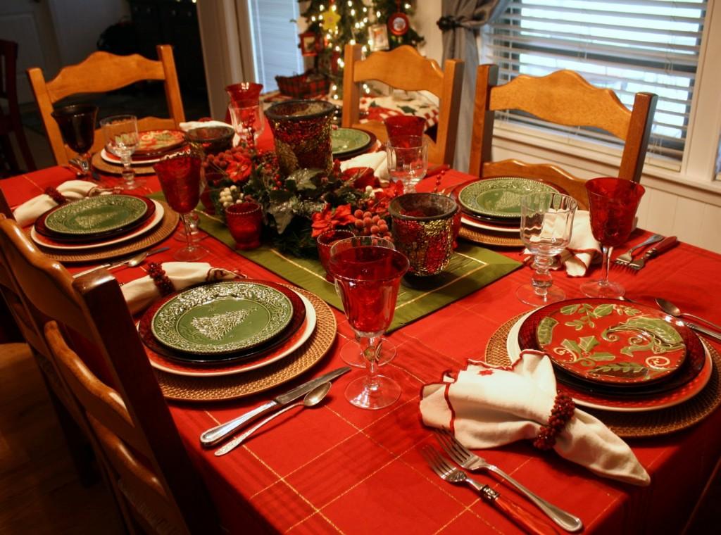 Decoraç u00e3o para Ceia de Natal -> Decoração Ceia De Natal Simples
