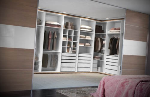 Decoracao de Quarto com Closet