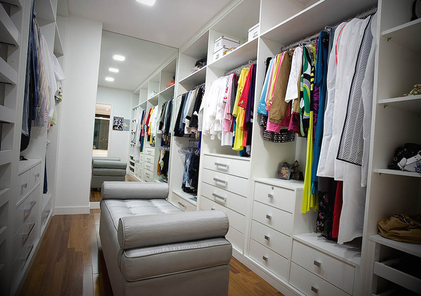 Decoracao de Quarto de Casal com Closet