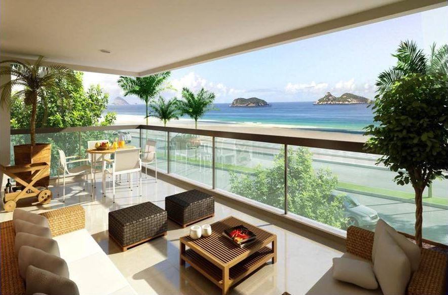 Decoraç u00e3o de Varandas -> Decoração Para Varanda De Apartamento Simples