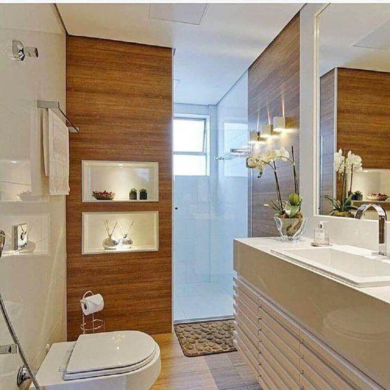 Dicas decorar banheiro beje