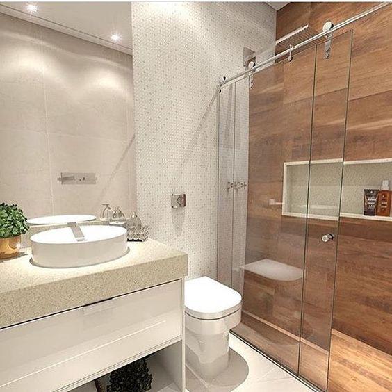 Dicas decorar banheiro madeira