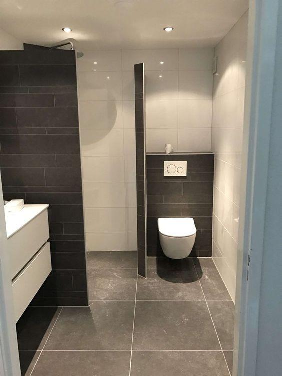 Dicas decorar banheiro preto branco