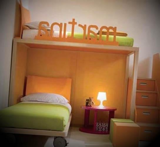 Dormitorios infantiles compartidos modernos