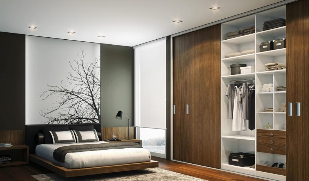Guarda roupas embutidos para quarto com gavetas cabides prateleiras Para sua casa