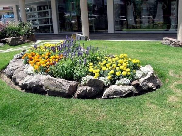 Ideias Jardins Pequenos Pedras 1