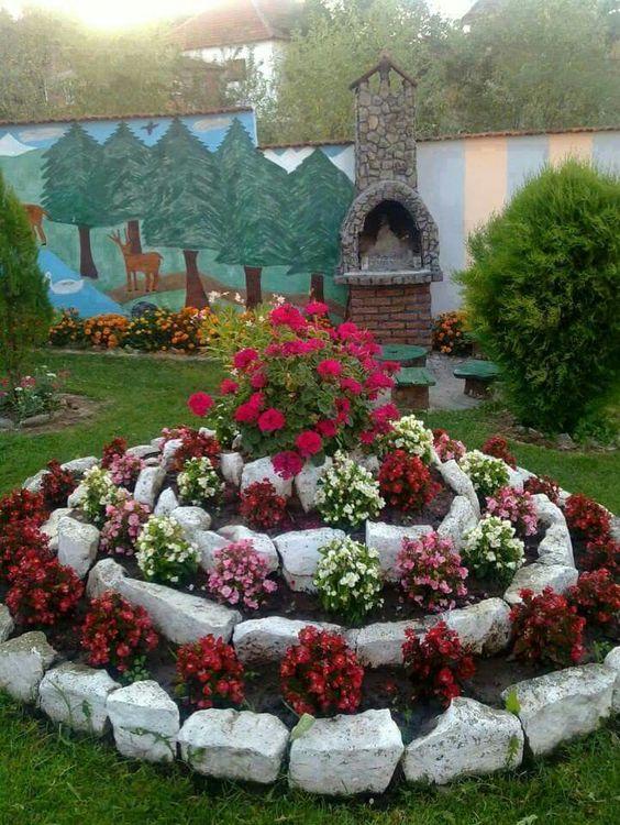 Ideias Jardins Pequenos Pedras 11