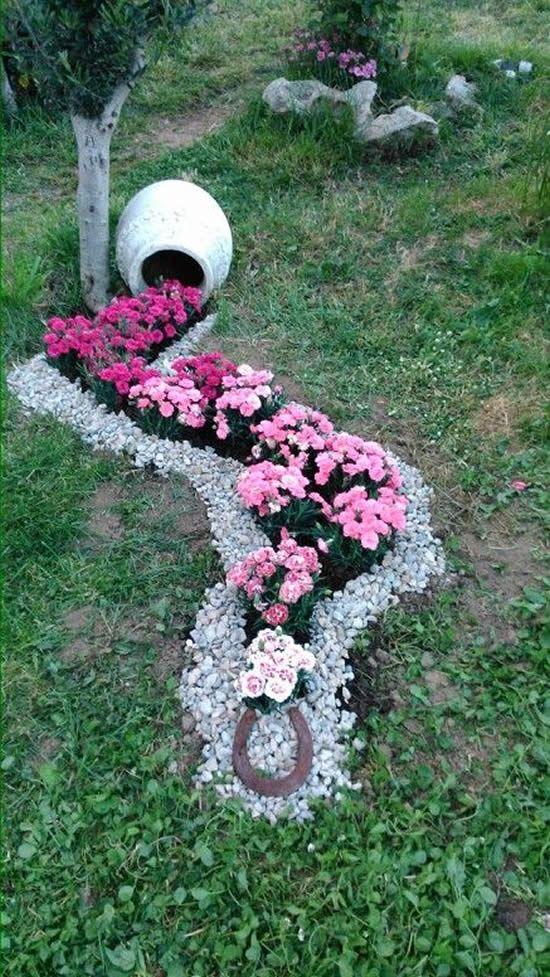 Ideias Jardins Pequenos Pedras 12