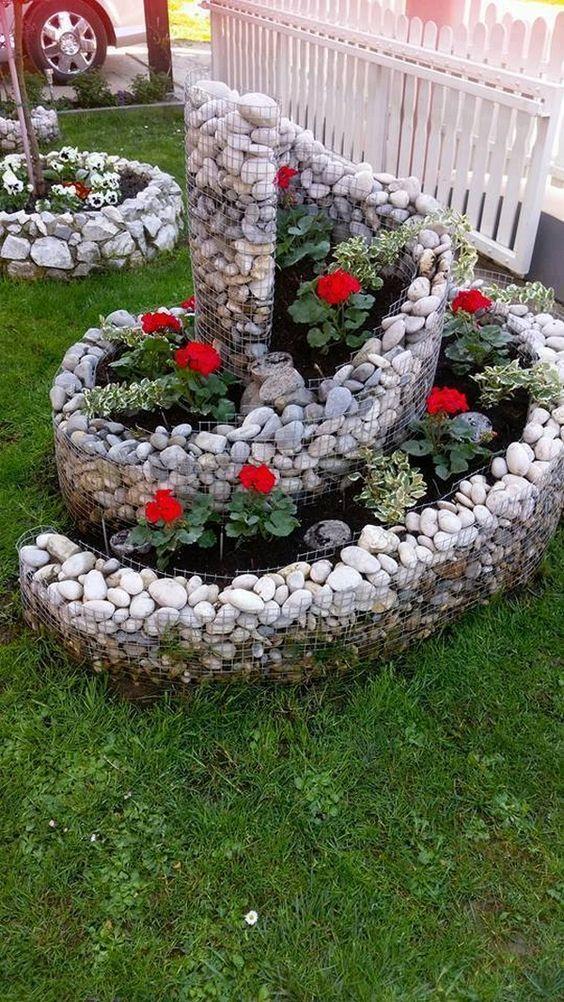 Ideias Jardins Pequenos Pedras 13