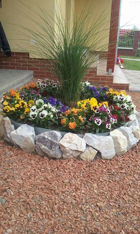 Ideias Jardins Pequenos Pedras 18