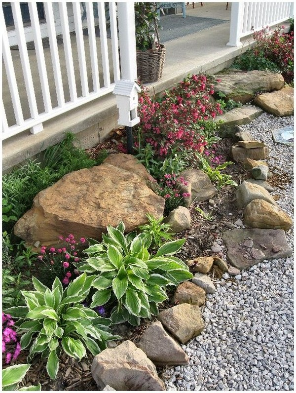 Ideias Jardins Pequenos Pedras 2