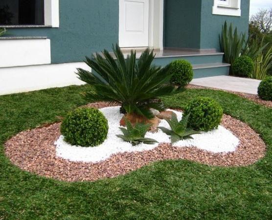 Ideias Jardins Pequenos Pedras 3