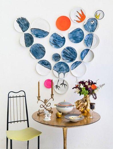 Ideias decoração pratos diferente