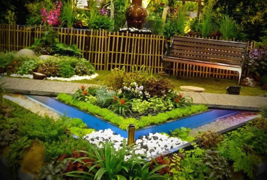 Jardim de Quintal Decorado