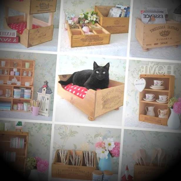 Reutilize garrafas e caixas e transforme sua decoração Caixas de Vinho