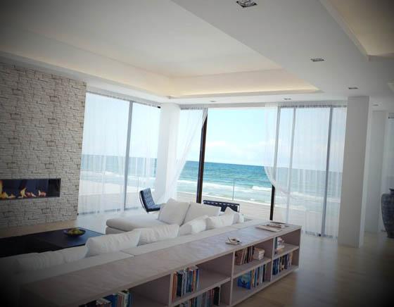 Salas Decoradas para Apartamentos de Luxo