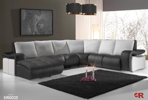 Sofá moderno elegante