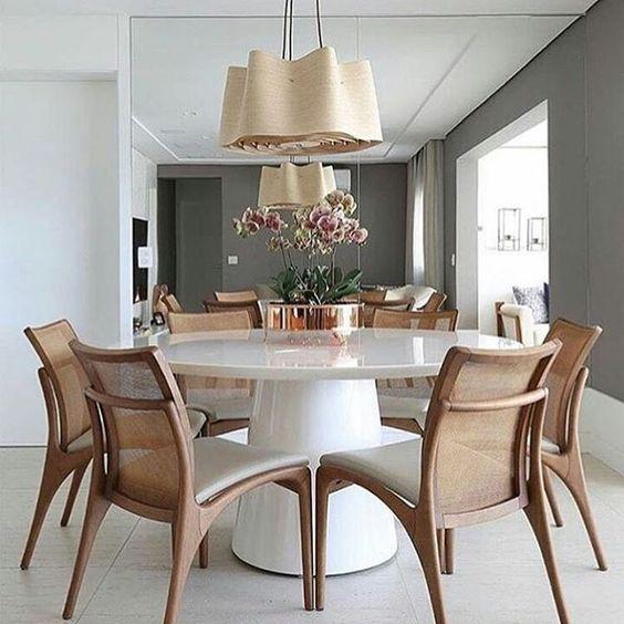 Vasos decorativo Mesa Jantar 1