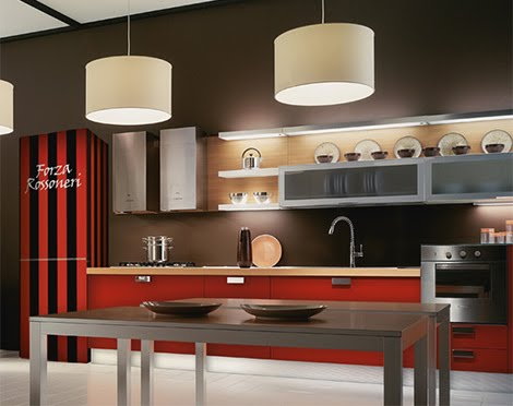 a cozinha decorada 2