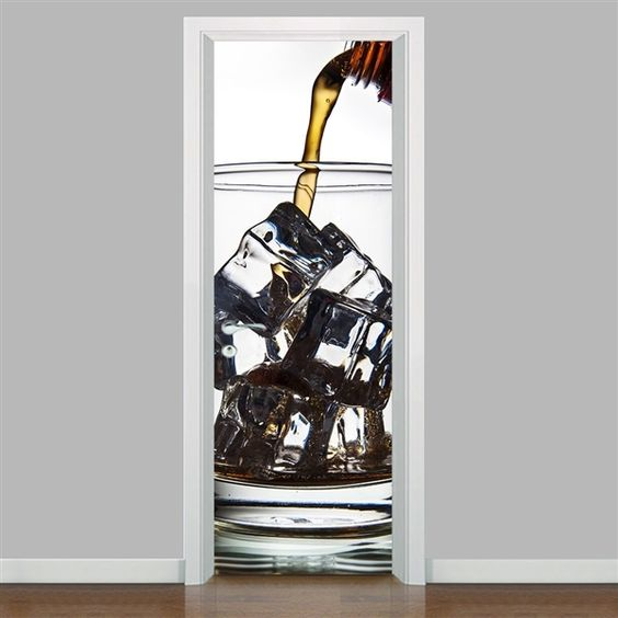 adesivo porta cozinha