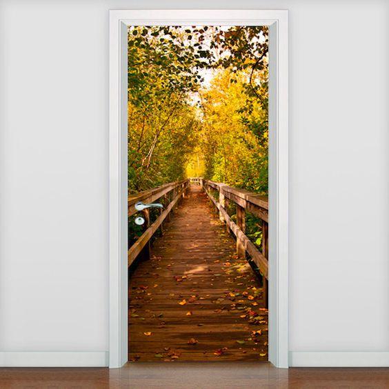 adesivo porta criativo 2