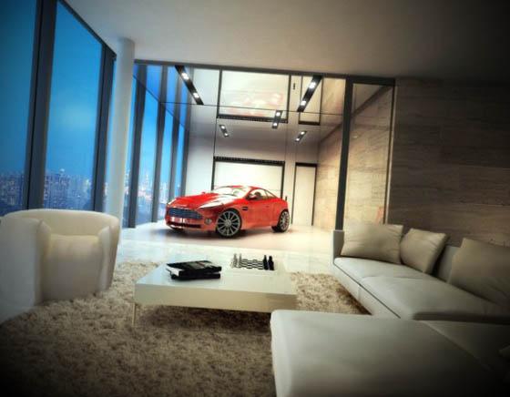 apartamento decorado com luxo