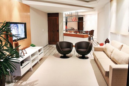 apartamento pequeno decoracao sala