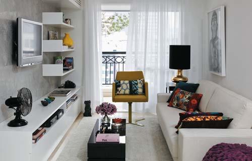 apartamento pequeno decoracaosala