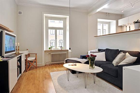 apartamentos pequenos sala decorada