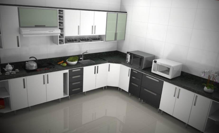 armario de cozinha embutido