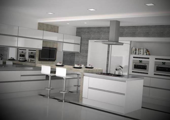armario modernos de cozinha planejado