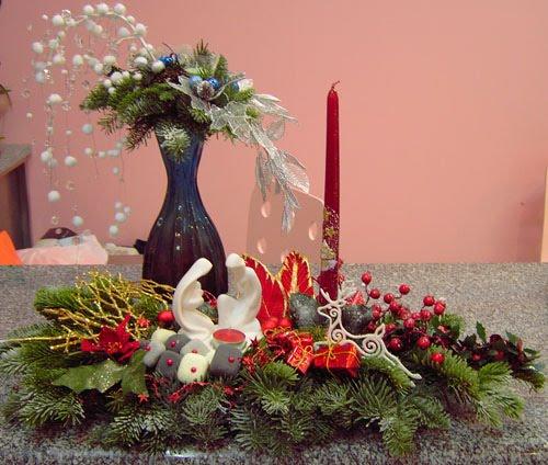 arranjo mesa natal