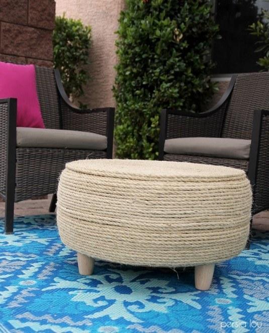 artesanato com cordas patio 2