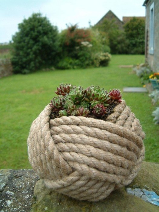 artesanato com cordas patio 3